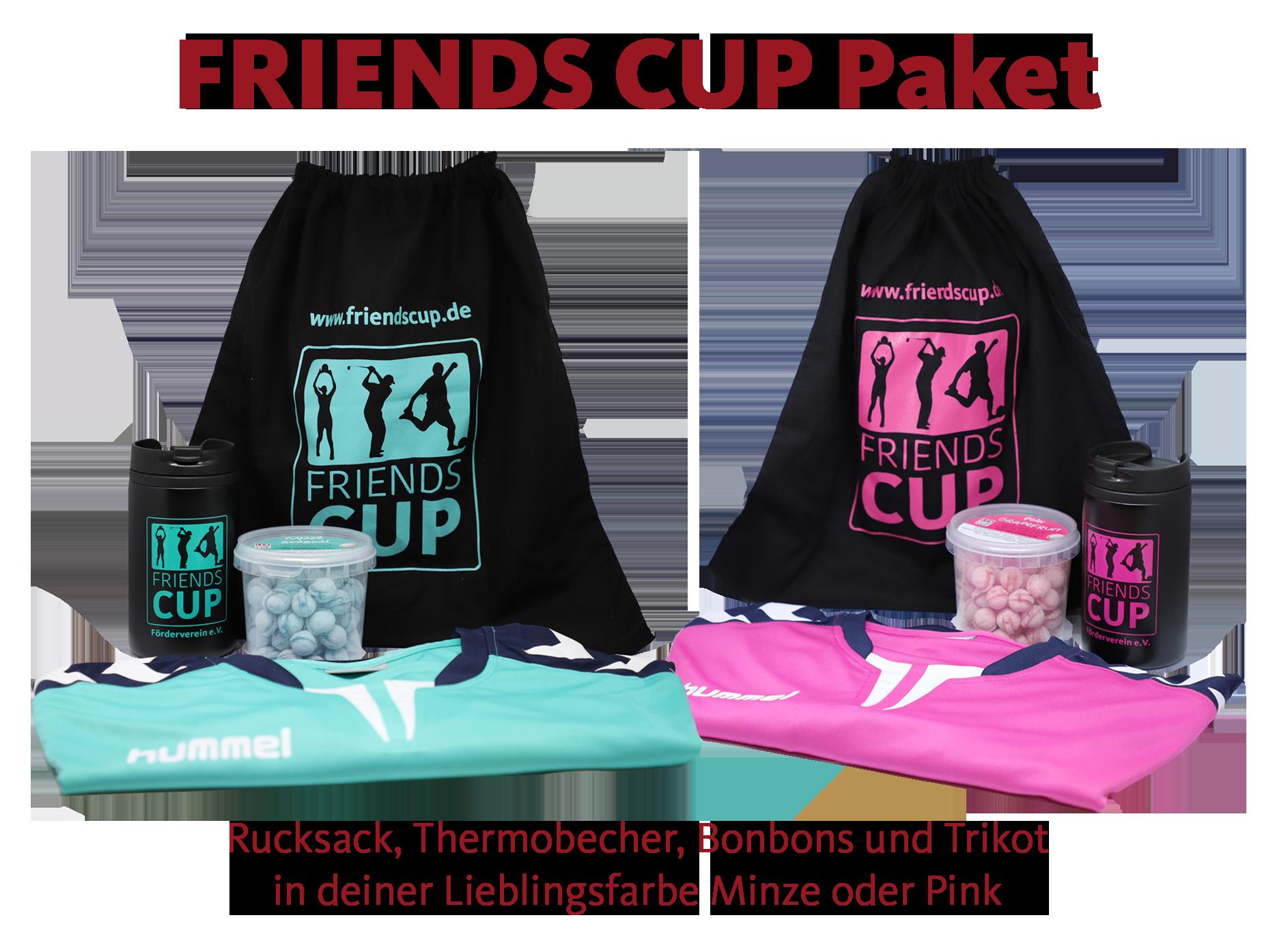 FRIENDS CUP Kollektion